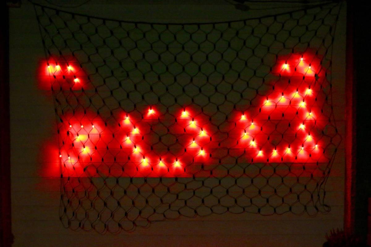 3X2M Lysnett IP44 Smart LED multifarge og animasjon m/